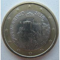 Сан-Марино 1 евро 2020 г.
