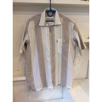 Рубашка мужская 54 р. полосатая