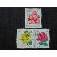 Германия 1972г. Цветы.