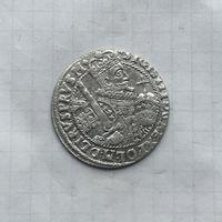 Монета Орт 1/24 талера 1622 г. Польша Сигизмунд lll РЕДКИЙ отличный