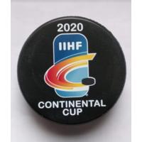 Официальная игровая шайба IIHF Континентального кубка 2020. Участник ХК Неман Гродно