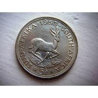Южная Африка  5  шиллингов  1953 г. Elizabeth II