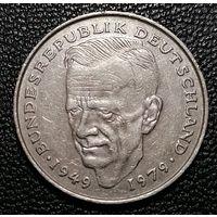 """2 марки 1979 Курт Шумахер """"F"""" - Штутгарт"""
