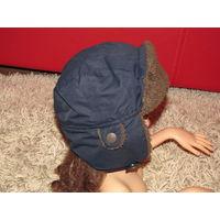 Шапка шлем для мальчика, 2-4 года, ОГ 51 см