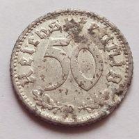 Германия, 50 рейхспфеннигов 1940 год, - D -