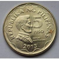 Филиппины 5 писо, 2013 г.