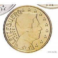 10 евроцентов 2009 Люксембург UNC из ролла