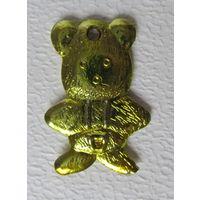 """Игрушка ёлочная """"Медведь"""",СССР"""