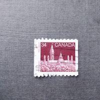 Марка Канада 1985 год Здание парламента