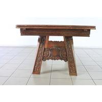 Стол обеденный деревянный расклодной