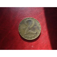 2 форинта 1970 год Венгрия