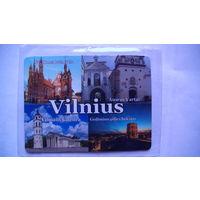 """Магнит на холодильник """"Вильнюс """". Виды города. РАСПРОДАЖА"""