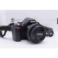 Зеркальная камера Nikon D60 + Yongnuo 50mm f/1.8 (10.2Мп). Гарантия.