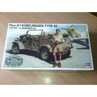 """Pkw.K1 Kubelwagen type 82 """"OTTO"""" w/MARSEILLE. Модель для сборки."""