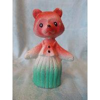 Лисичка, лиса- резиновая игрушка СССР, пищалка