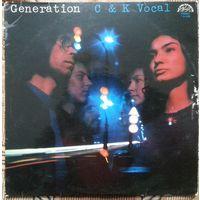 LP C & K Vocal - Generation (1976) Prog Rock