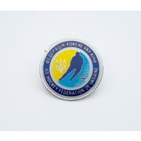 Официальный значок федерации хоккея Украины