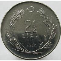 Турция 2,5 лиры 1970 ФАО (82)