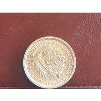 Венесуэла. 2 боливара. 1965г.  0,8350 Серебро