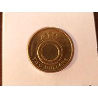 2 доллара 2012 Соломоновы острова