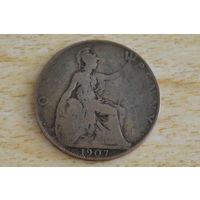 Великобритания 1 пенни 1907