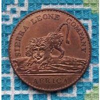 Сьерра-Леоне 1 цент 1791 года. Лев.