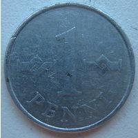 Финляндия 1 пенни 1973 г.