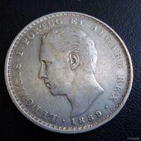 Португалия. 500 рейс 1889 г.