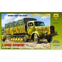 ЗВЕЗДА 3603 - Немецкий грузовик L 4500 R МАУЛЬТИР / Сборная модель 1:35