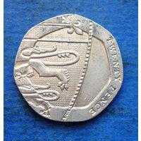 Великобритания 20 пенсов 2008