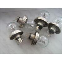 Автомобильные лампочки 12 вольт,40W;   55 штук.новые