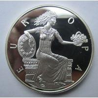 Андорра. 10 динеров 1998. Серебро. 280