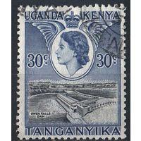1954 - Кения - Уганда - Танганьика Елизавета II Mi.96