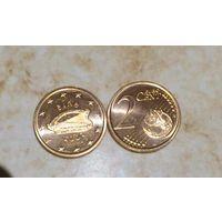 2 евроцента Ирландия 2003