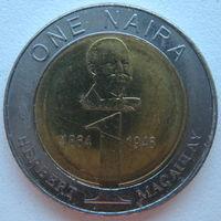 Нигерия 1 найра 2006 г. (d)