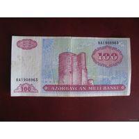100 манат 1993, Азербайджан