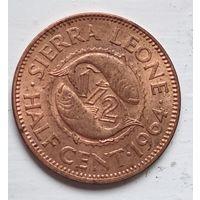 Сьерра-Леоне 1/2 цента, 1964 4-11-45