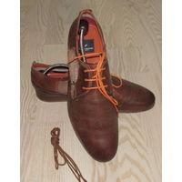 """Стильные кожаные туфли """"DANIEL HECHTER"""", 44р., 29,5см."""