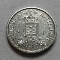 1 цент, Нидерландские Антильские острова, (Антиллы) 1981 г.