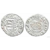 YS: Венгрия, денарий 1620, Матьяш II, серебро, Huszar# 1141