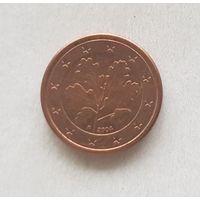 1 евроцент 2004 Германия F