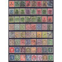 Германия Веймар 2 скана, 100 марок ГАШ С 1 РУБ 1923-1932 гг