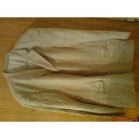 Пиджак мужской стильный 54 р 100% лён (льняной)