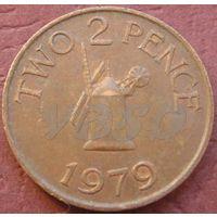 1041: 2 пенса 1979 Гернси