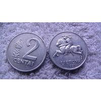 Литва, 2 Centu 1991г. распродажа
