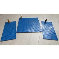 """Аналог конструктора Лего... Brick и др., три больших """"основания"""" для творчества... человечки для ориентира и прилагаются..."""