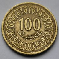 Тунис, 100 миллимов 2005 г