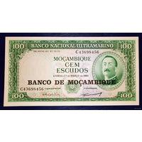 РАСПРОДАЖА С 1 РУБЛЯ!!!Португальский Мозамбик 50, 100, 500 и 1000 эскудо aUNC-UNC