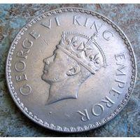 Британская Индия. 1 рупия 1941 г.