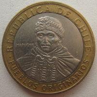 Чили 100 песо 2009 г.